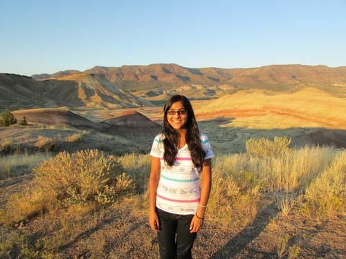 Shreya Jain, a student at Portland State University