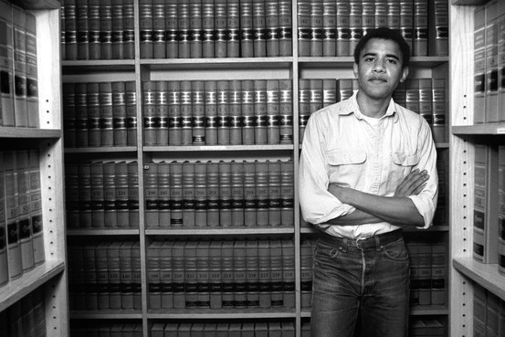 President Barack Obama  in college