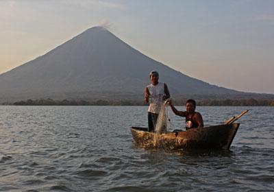Isla Omepete fishermen