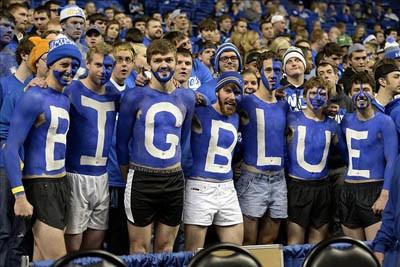Kentucky basketball fans