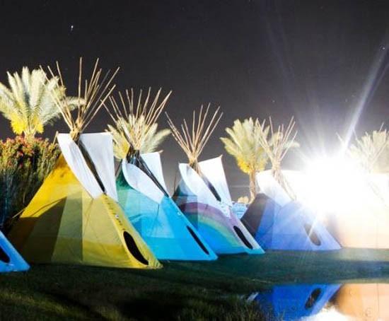 Coachella tents