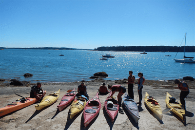 Maine Bound Outdoor Adventure Trips and Courses program