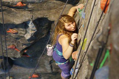 Purdue rock climbing wall