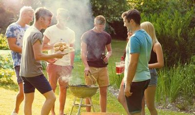 summer bbq with friends
