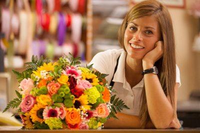 Floral Management student