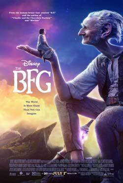 The BFG movie poster