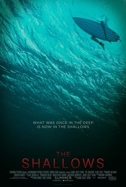 The Shallows movie cover