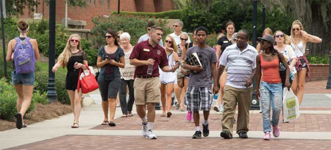 FSU campus tour