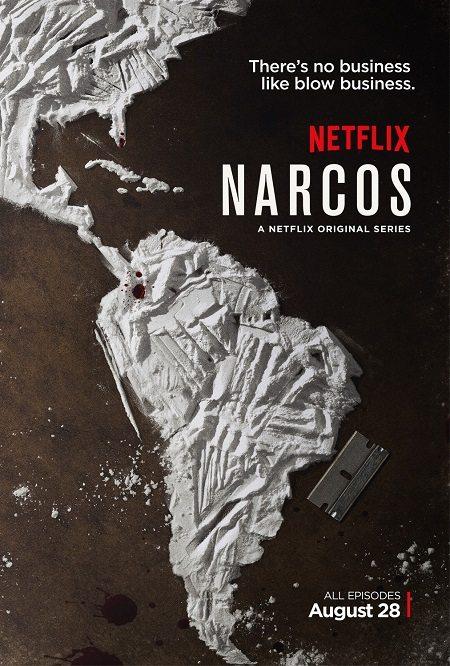 Narcos Netflix Poster