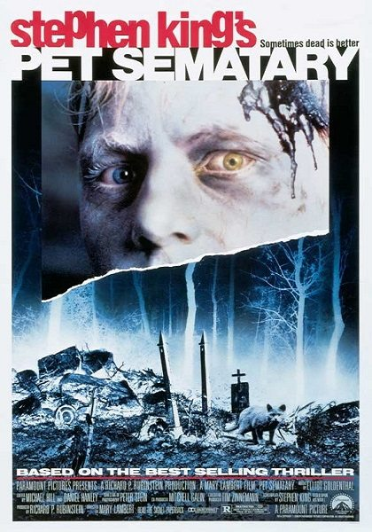 Pet Semetary movie poster