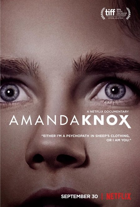 Amanda Knox Netflix poster