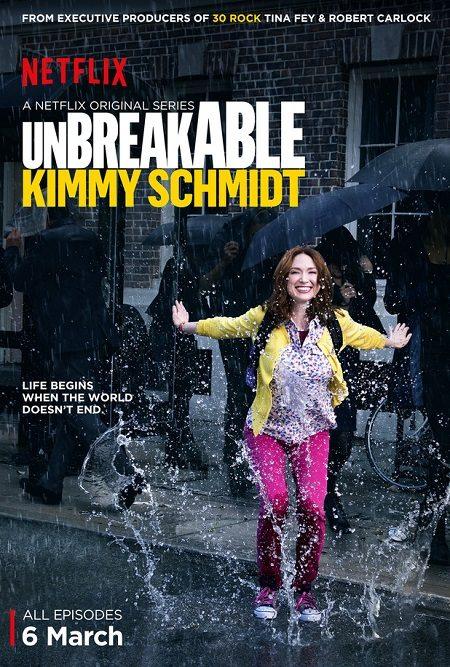 Unbreakable: Kimmy Schmidt Netflix poster