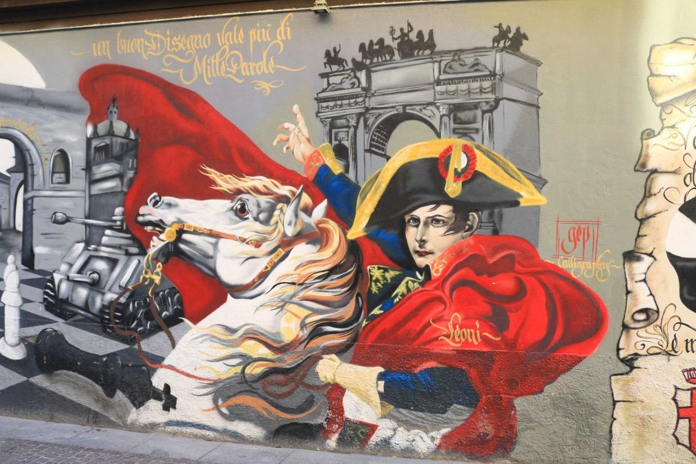Street art around Porta Ticinese