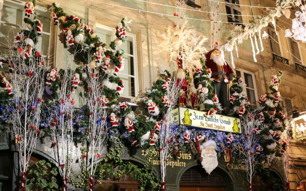 Christmas street decoration