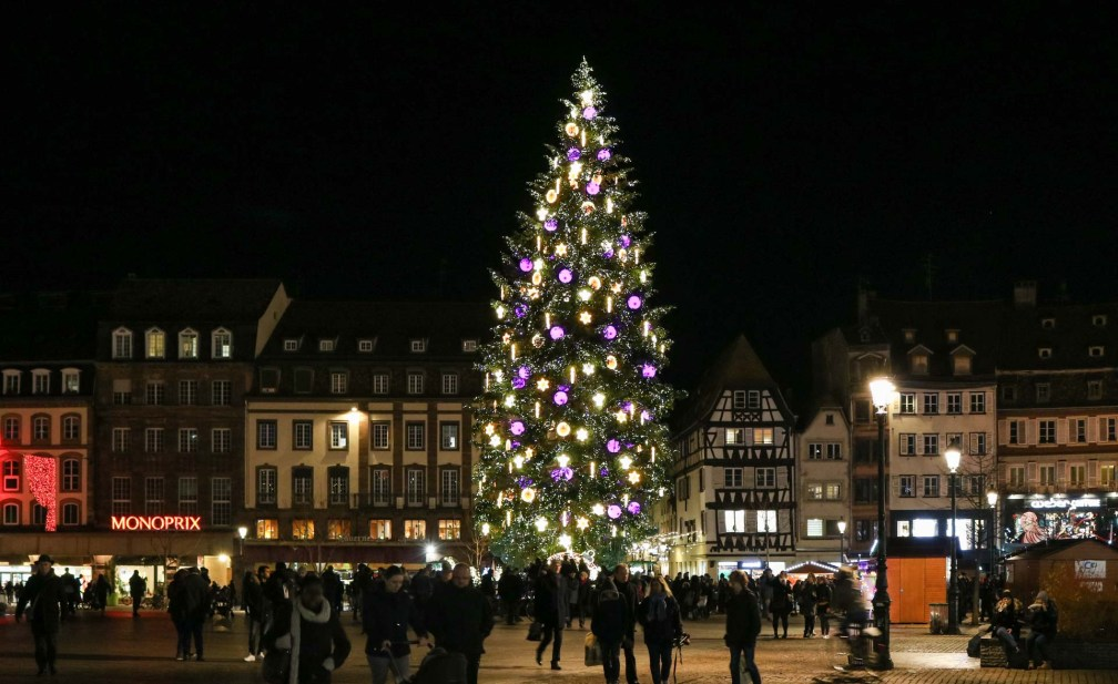 Strasbourg Christmas Tree