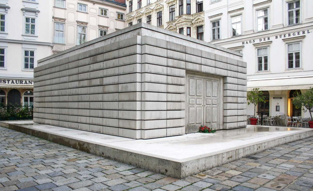 Judenplatz Holocaust Memorial