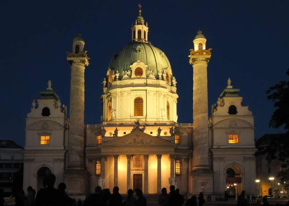 Vienna at night
