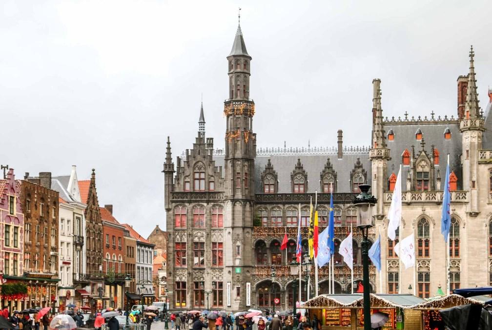 Bruges in winter
