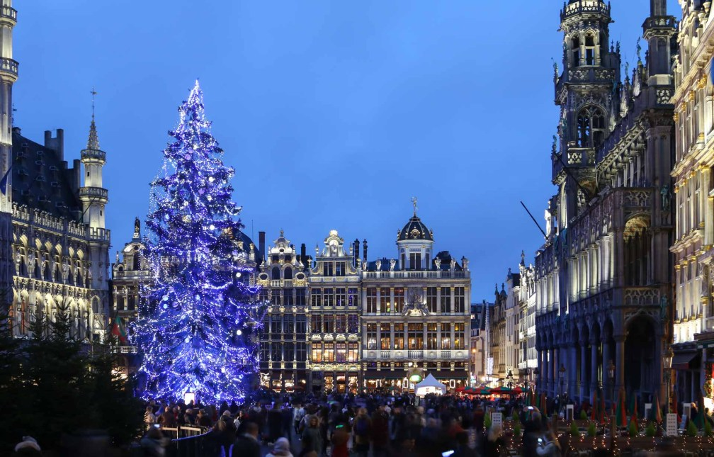 Christmas market Grand-Place