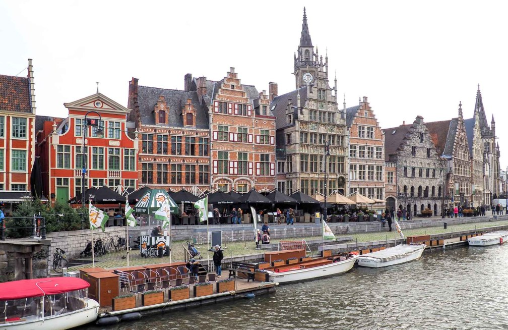 Ghent boat tour