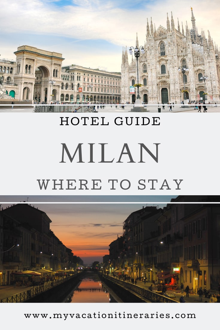 where to stay in milan for one night
