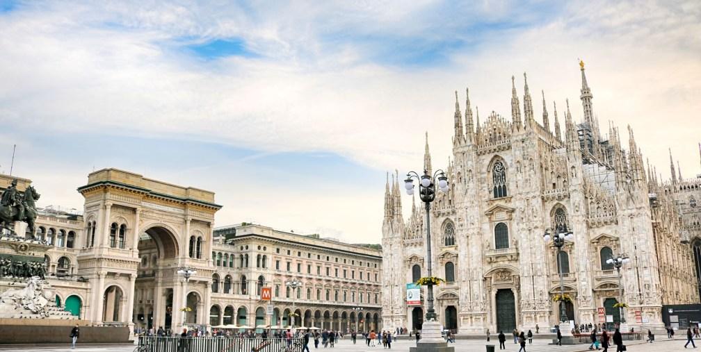 Milan Duomo area