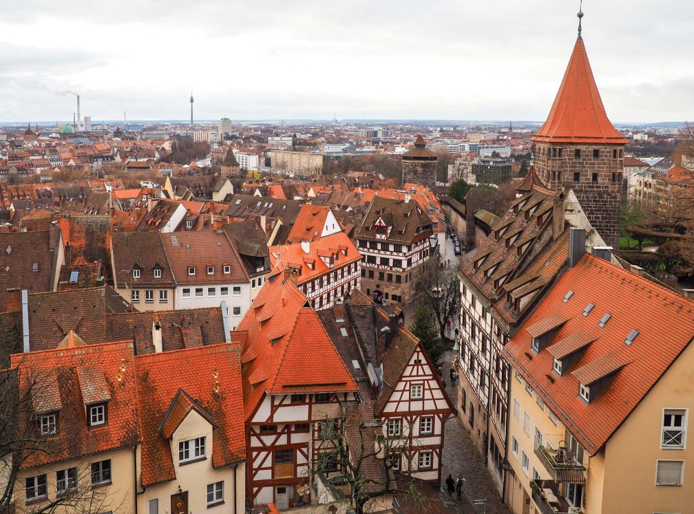 Nuremberg Castle view