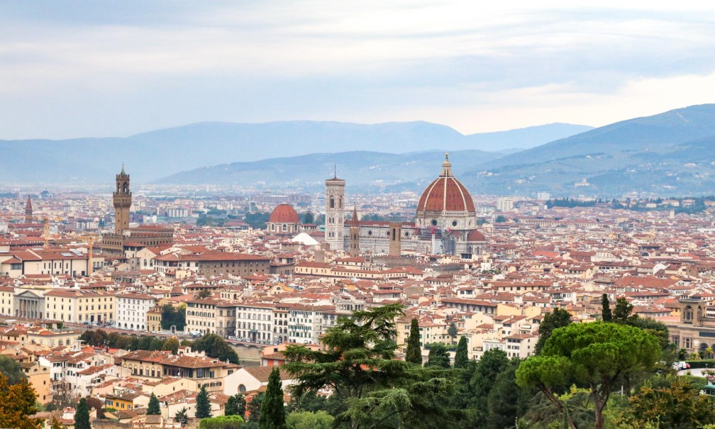 panoramic view florence