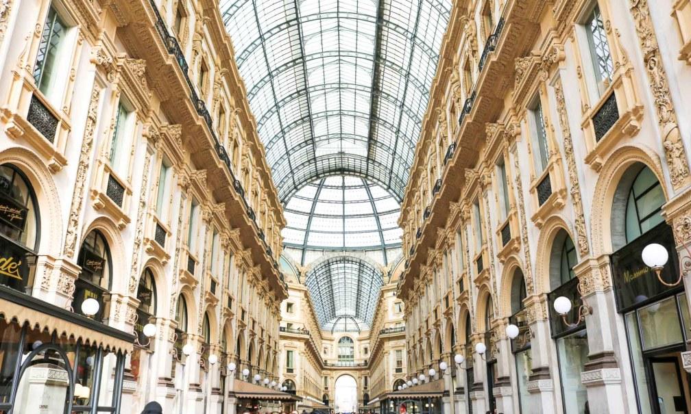 Галерея Витторио Эмануэле II Милан за один день Как посетить Милан за один день? milan galleria vittorio emanuele