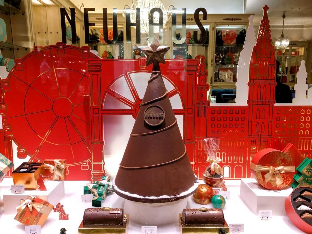 Neuhaus Лучшие брюссельские рождественские ярмарки Лучшие брюссельские рождественские ярмарки (путеводитель по 2019 году) neuhaus chocolate tree