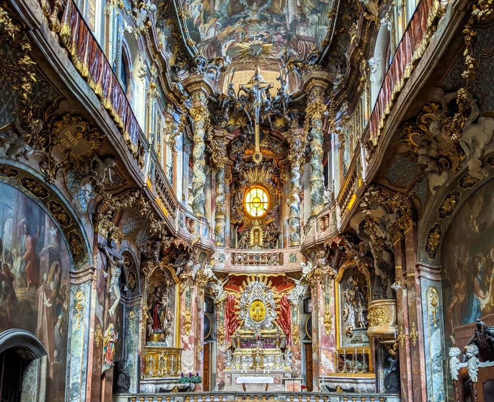 Церковь Асам Идеальный Мюнхенский маршрут Идеальный Мюнхенский маршрут munich asam church
