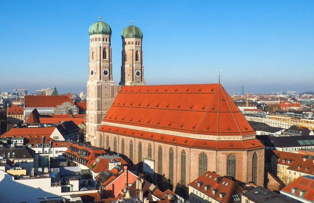 Фрауэнкирхе Идеальный Мюнхенский маршрут Идеальный Мюнхенский маршрут munich frauenkirche