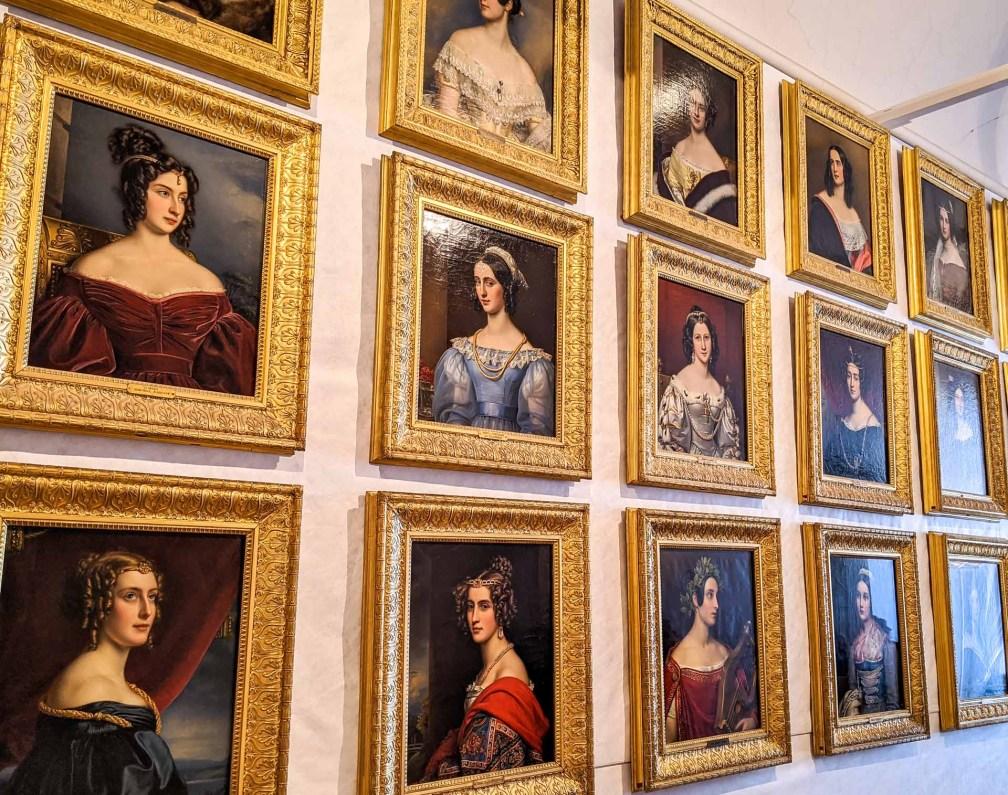 Галерея Красавиц Идеальный Мюнхенский маршрут Идеальный Мюнхенский маршрут nymphenburg gallery beauties
