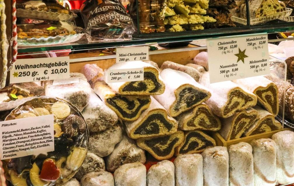 Stollen Лучшие рождественские рынки в Мюнхене Лучшие рождественские рынки в Мюнхене (путеводитель по 2020 году) stollen