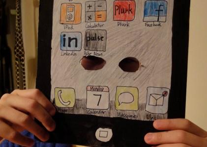 {父子之間} 驚!iPad3照片流出!