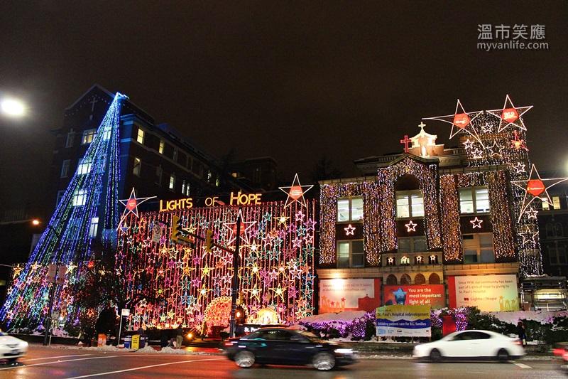 {溫哥華旅遊} 好個璀璨耶誕,來溫哥華賞聖誕燈飾吧!
