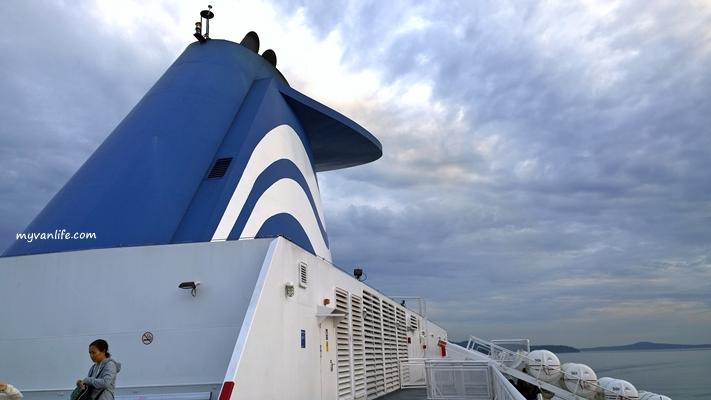 {溫哥華遊記} 馳騁海上公路 — 全北美最大船隊的卑詩渡輪