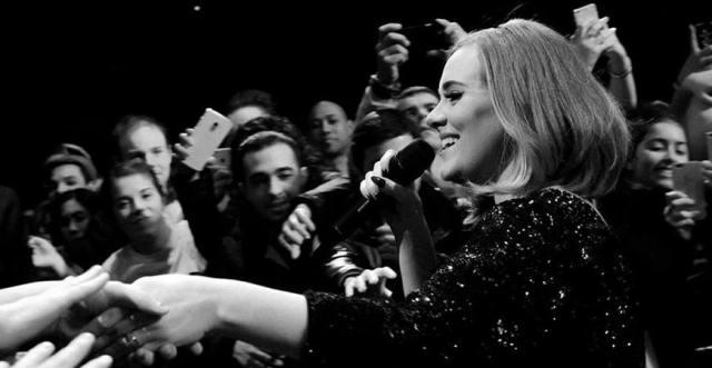 圖片出處:Adele 臉書