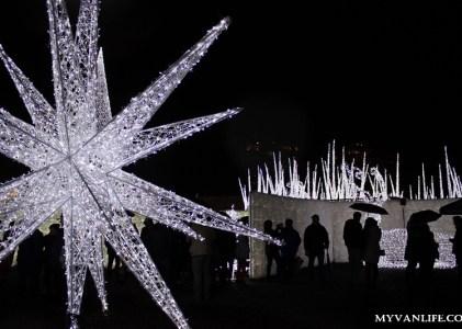 {溫哥華旅遊} 探訪北美最大的聖誕燈迷宮,炫目新體驗