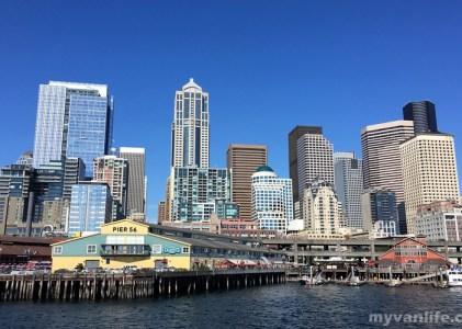 {西雅圖旅遊} 陸海空三方目擊!西雅圖城市全貌就是要這樣看