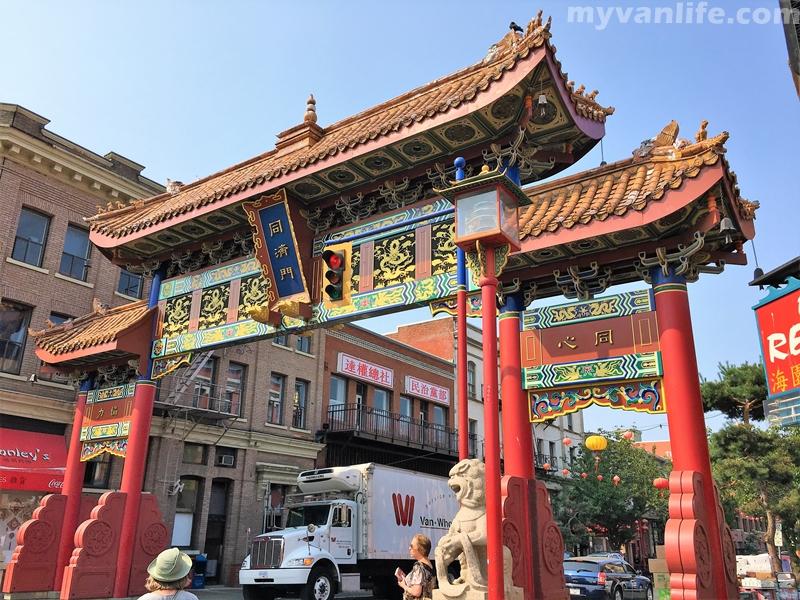 維多利亞旅遊 踩在唐人街上的每一步,都是古老的記憶