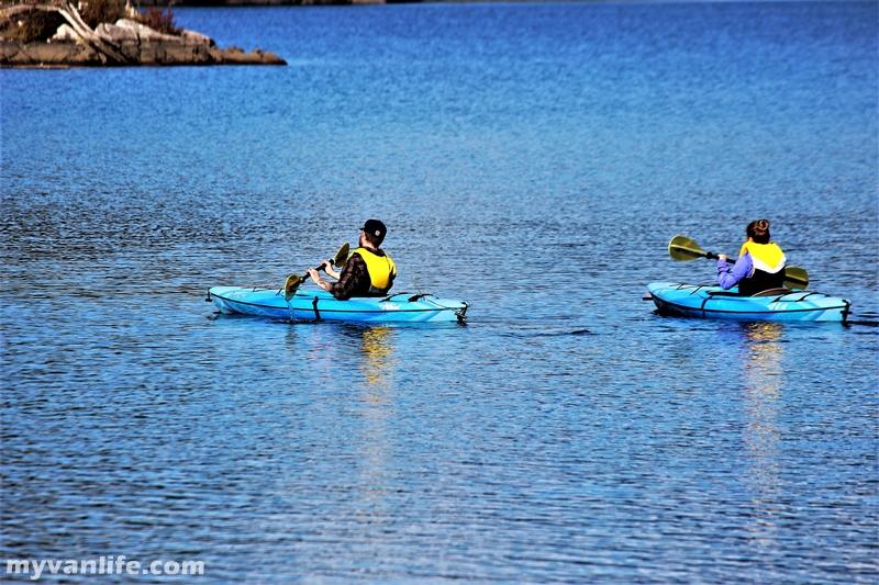 溫哥華旅遊|秋天在14度C的邦紳湖湖濱
