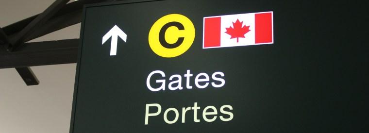 加拿大海關和簽證
