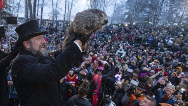 Groundhog Day 土撥鼠日