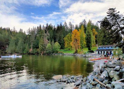 溫哥華旅遊|2021秋重遊Deep Cove