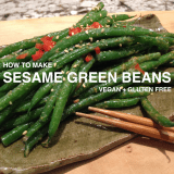 How to Make Sesame Green Beans
