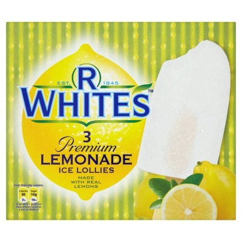 whites lemonade ice lollies