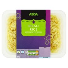 ASDA Pilau Rice with Aromatic Spices