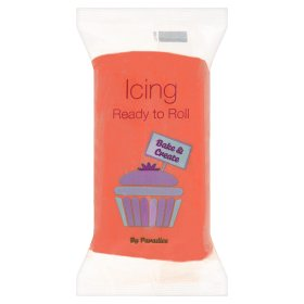 Bake & Create Ready to Roll Icing Red
