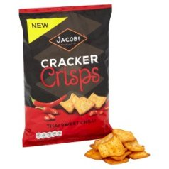 Jacobs Thai sweet chilli cracker crisps 150g